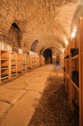 Skupinová ochutnávka vín ve vinné galerii broumovského kláštera