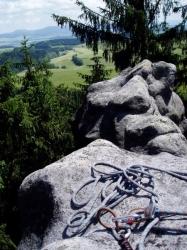 Pohledy z vrcholů Bischofsteinu