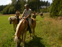 V koňském sedle Broumovskem